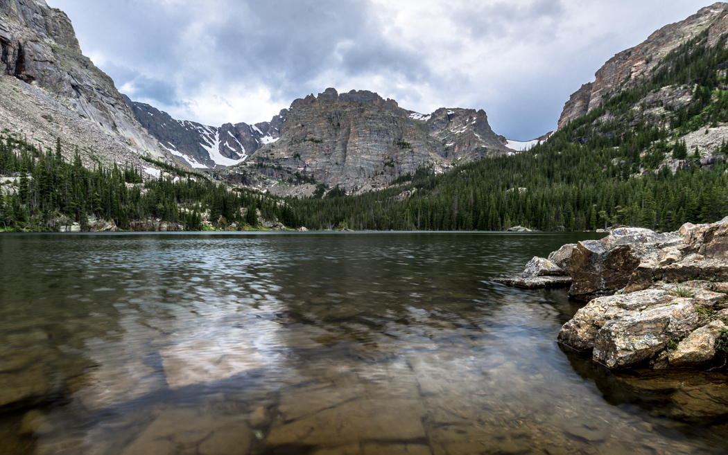 The Loch, in Rocky Mountain National Park. GreatDistances / Matt Wicks