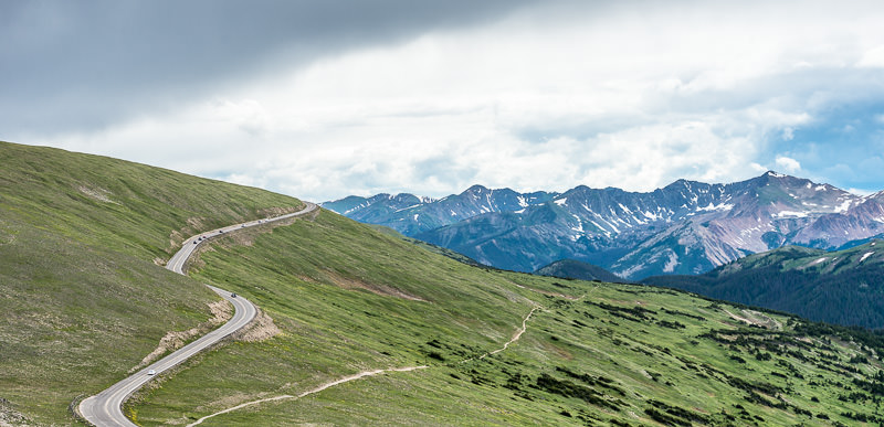 Trail Ridge Road and the Never Summer Mountains. Rocky Mountain National Park. GreatDistances / Matt Wicks