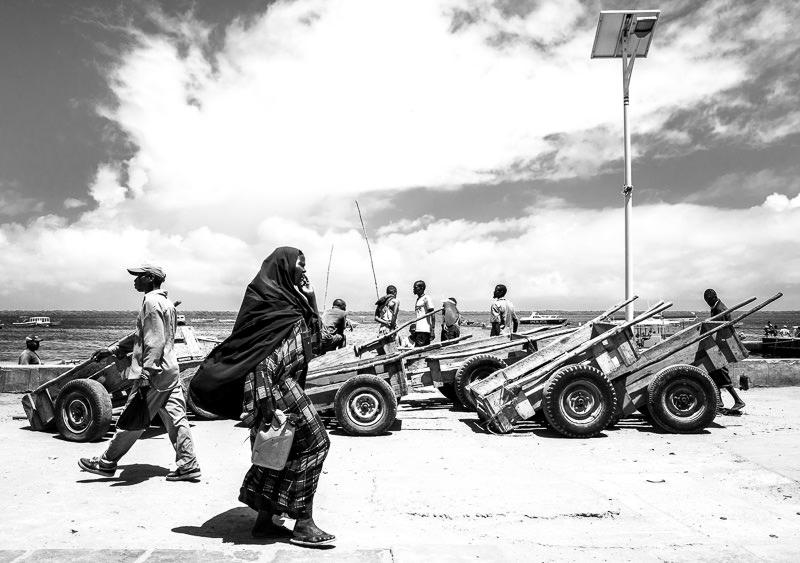 The waterfront of Lamu Town. GreatDistances / Matt Wicks
