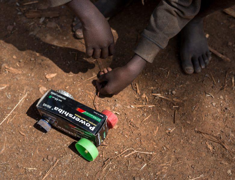 Konso village, homemade toy - South Omo Part 2 - Bull Jumping - GreatDistances / Matt Wicks