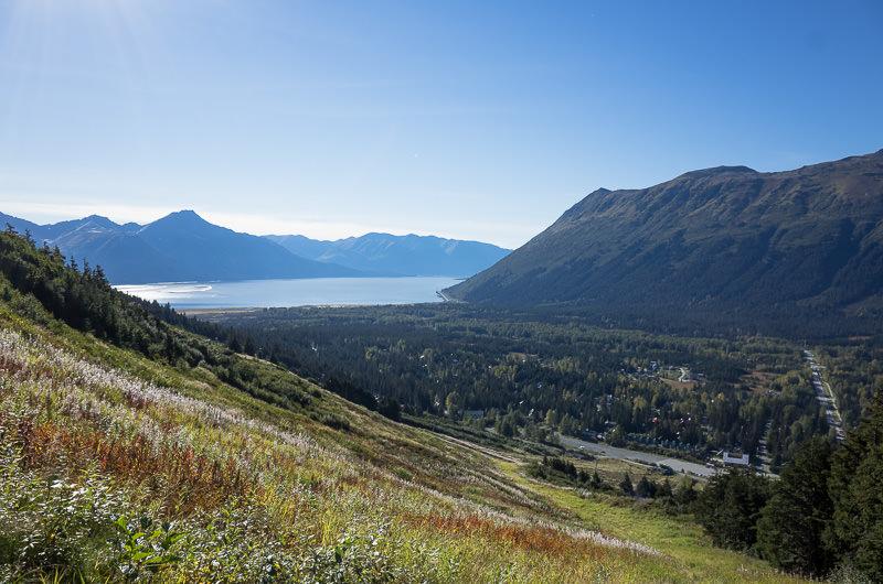 Looking down on Girdwood, Alaska and the Turnagain Arm. GreatDistances / Matt Wicks - Two Weeks in Alaska: Selected Photos