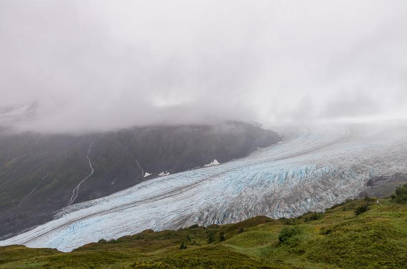 Exit Glacier in heavy fog. Kenai Fjords National Park. Near Seward, Alaska. GreatDistances / Matt Wicks - Two Weeks in Alaska: Selected Photos