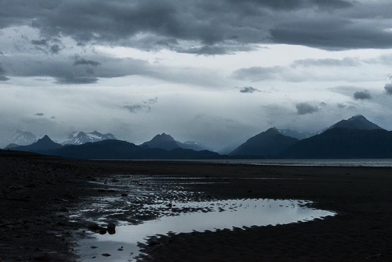 Evening in Homer, Alaska, facing the mountains across Katchemak Bay. Homer, Alaska. GreatDistances / Matt Wicks - Two Weeks in Alaska: Selected Photos