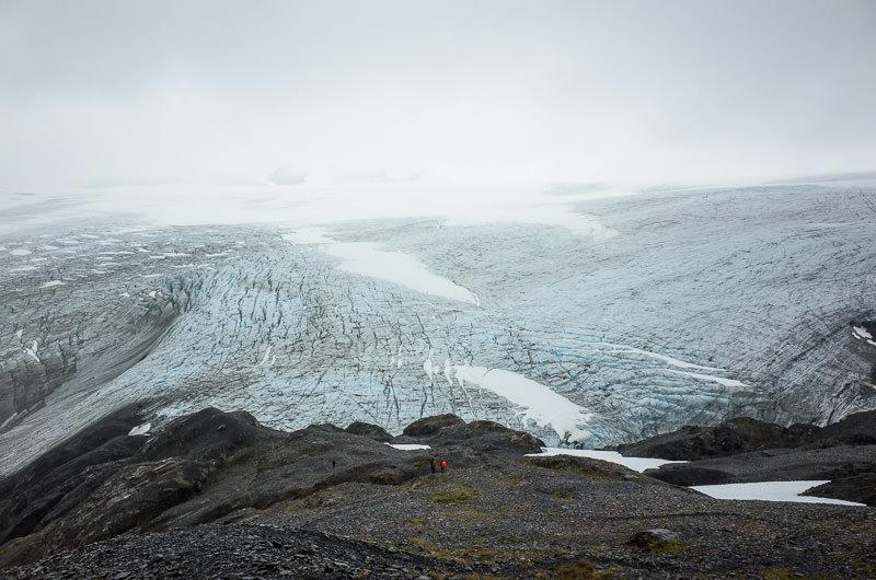 Overlooking Harding Icefield, in Kenai Fjords National Park. GreatDistances / Matt Wicks - Two Weeks in Alaska: Selected Photos