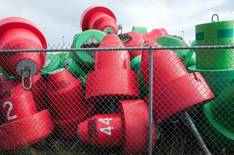 Buoys in Homer, Alaska. Matt Wicks / GreatDistances - Two Weeks in Alaska: Selected Photos