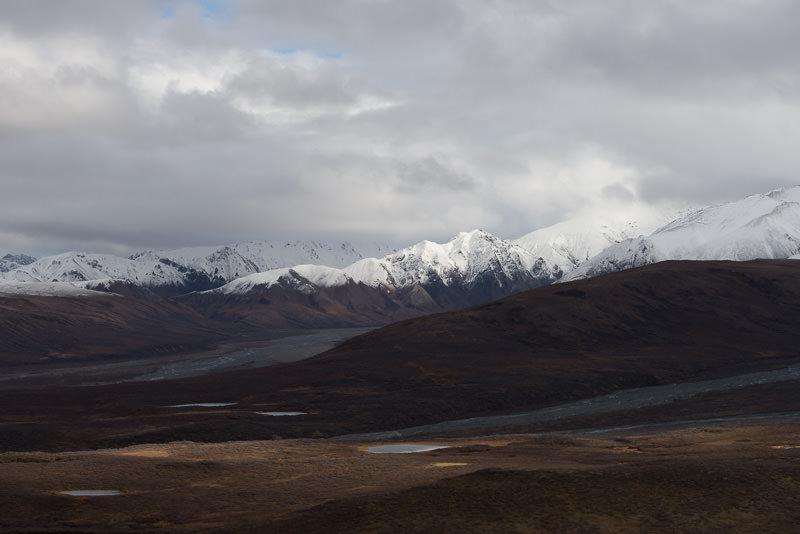 Polychrome Overlook, at Mile 46 in Denali National Park. GreatDistances / Matt Wicks - Two Weeks in Alaska: Selected Photos