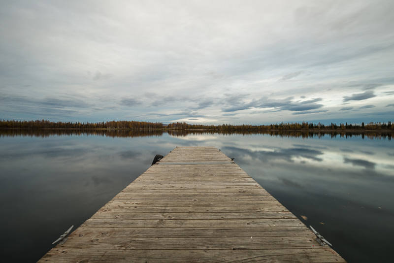 Late afternoon at Chena Lakes in North Pole, Alaska. GreatDistances / Matt Wicks - Two Weeks in Alaska: Selected Photos