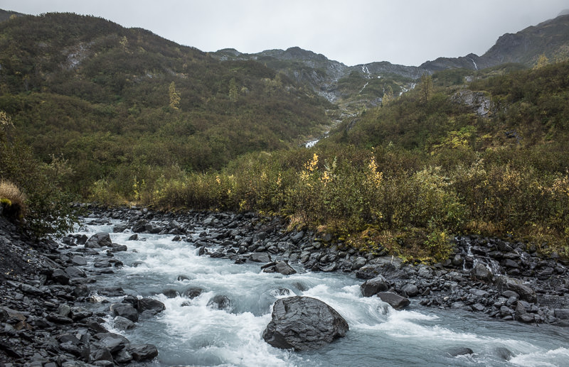 Mountain stream in Whittier, Alaska. GreatDistances / Matt Wicks - Two Weeks in Alaska: Selected Photos