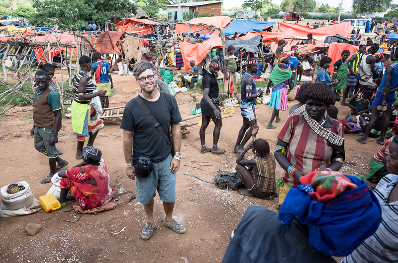 Market day in Alduba, South Omo, Ethiopia. How To Visit South Omo, Ethiopia (Omo Valley) - GreatDistances / Matt Wicks