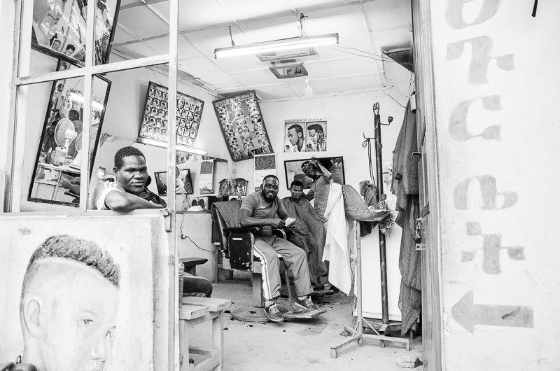 Jinka barber shop. South Omo, Ethiopia. How To Visit South Omo, Ethiopia (Omo Valley) - GreatDistances / Matt Wicks