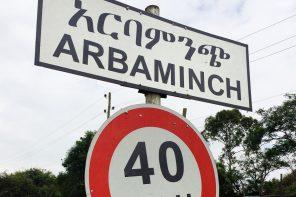 Arba Minch road sign - South Omo Part One: Arba Minch - GreatDistances / Matt Wicks